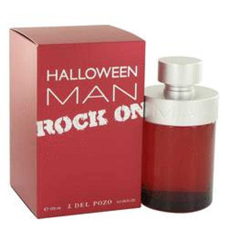 Halloween Rock  by J. Del Pozo For Men's Edt Spray 4.2oz