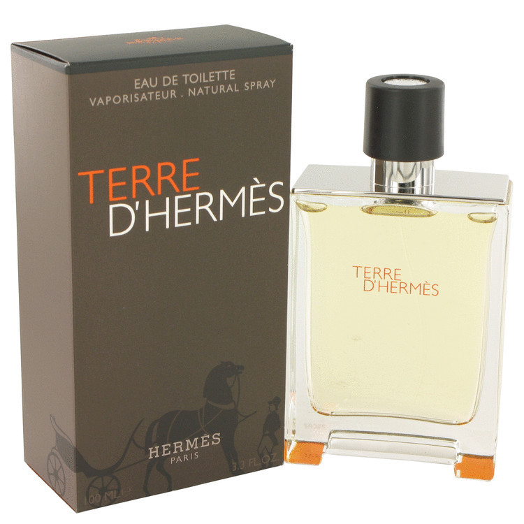 TERRE D'HERMES MENS FRAGRANCE 3.4oz EDT SPRAY