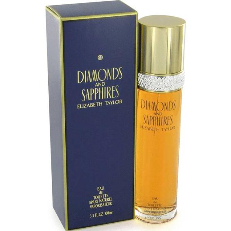 Diamond & Shapires For Women by Elizabeth Taylor Edt Sp 3.3 oz