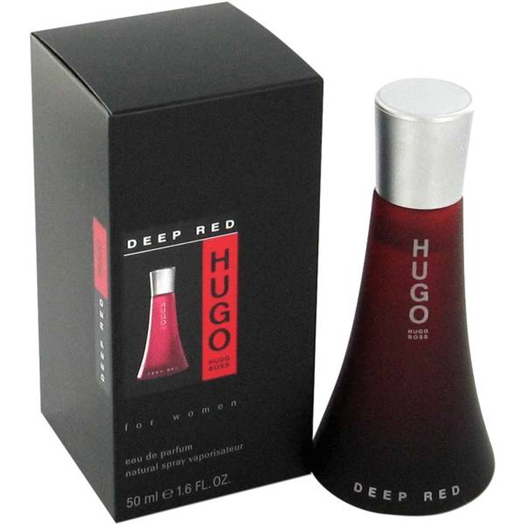 Hugo For Women Deep Red by Hugo Boss  Edp Sp 3.0 oz