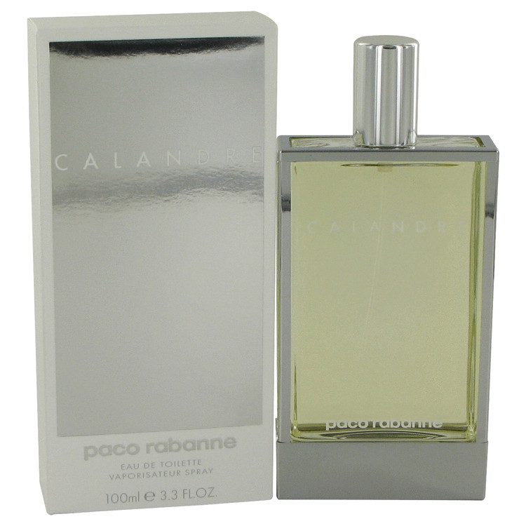 Calandre for Women by Paco Rabanne Edt Spray 3.4 oz