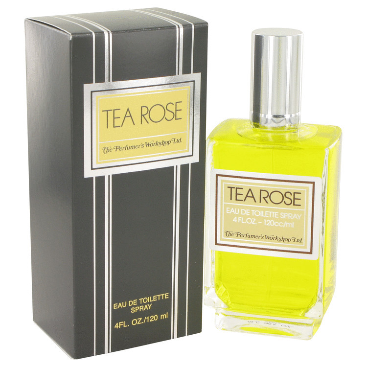 Tea Rose 4.0oz Edt Sp Fragrance for Women
