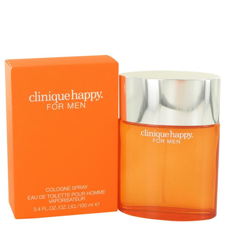 CLINIQUE HAPPY by Clinique 3.4 oz COLOGNE Men's Spray
