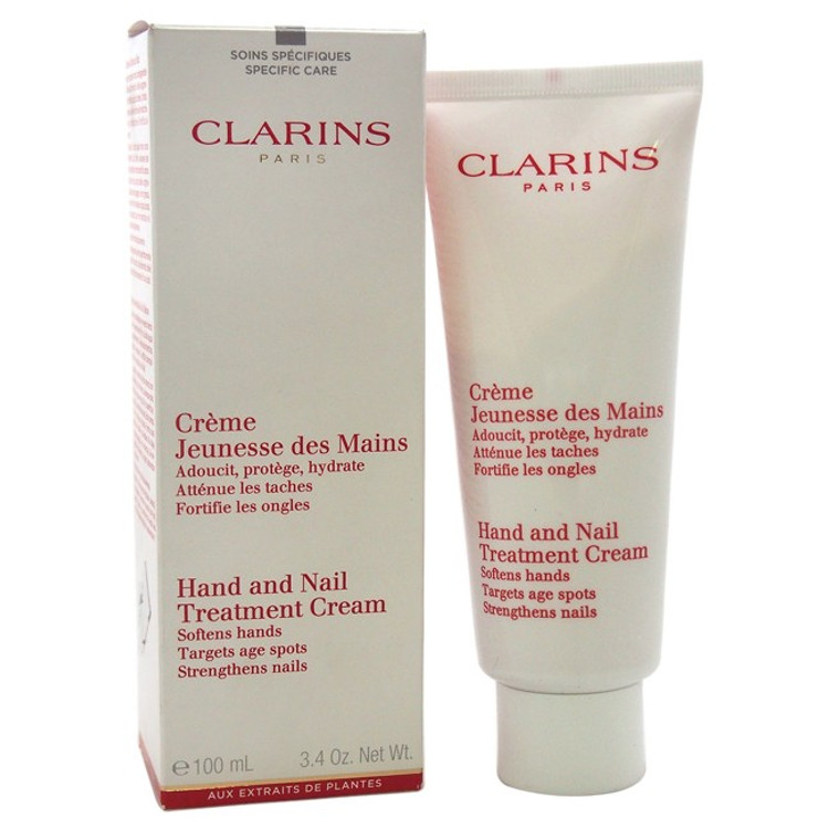 CLARINS NAIL AND HAND TREATMENT CREAM 3.5 OZ INTENSE HYDRATION