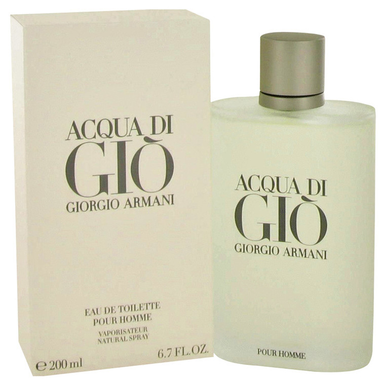 Acqua Di Gio Men Cologne by Giorgio Armani Edt Spray 3.4 oz