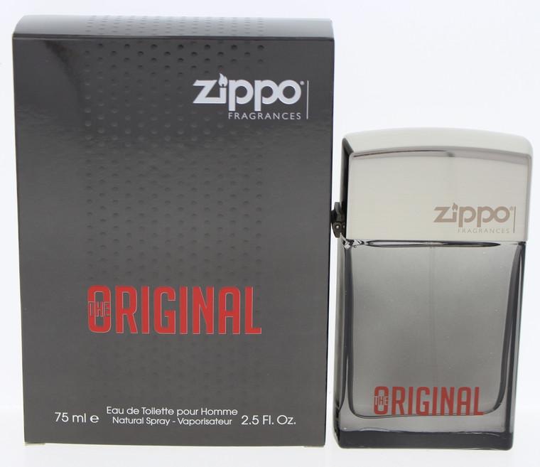 ZIPPO THE ORIGINAL EAU DE TOILETTE SPRAY 2.5 OZ