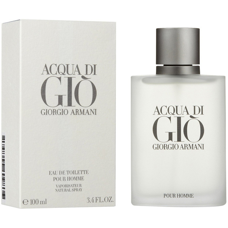 Acqua di Gio Cologne Giorgio Armani EDT Spray Men 3.4 oz