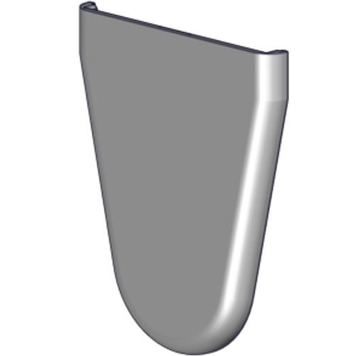 "Skyline bracket cover (2.0"") Color: Grey."