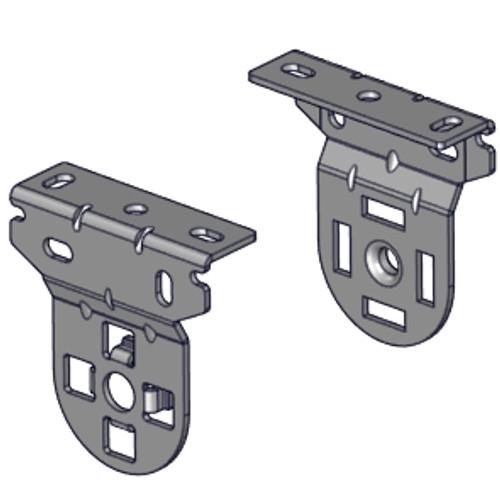 """Standard mounting bracket set for Easy Spring Ultra on 1.5"""" tube."""