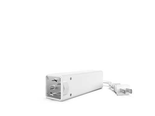 "Rollease Automate Drapery AC Module 10"" Cord and Plug."