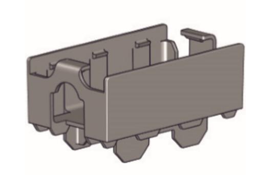 Rollease Tilt Motor Cradle High Profile Head Rails