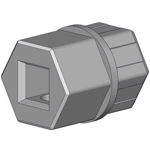 Rollease Shaft Adapter Cord Lift - mm Square
