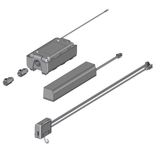 Rollease Automate Passthrough Tilt Motor Kit.