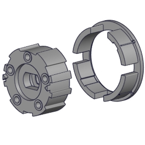 Rollease Crown and Drive Set for 45mm Motor in S60 Tube