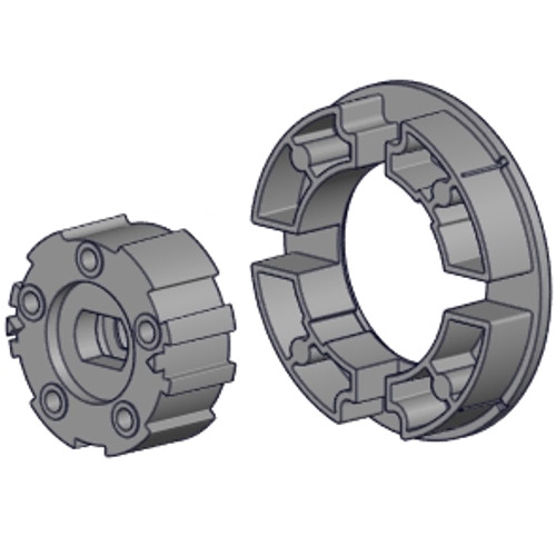 Rollease Crown and Drive Set for 45mm Motor in S80 Tube