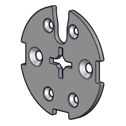 Rollease M40 H/D Slim Head Arc Motor Disc Adapter S45