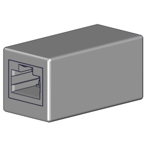 Rollease Serial Cable Coupler RJ45-RJ45