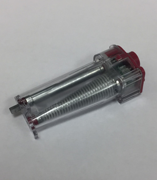 Hunter Douglas RRO LiteRise Transmission Red 3: 1-A. Used for blinds made before May 2007. Fits polymer D-Rod lift shaft 5908029000. For Duette, Pleated, and Honeycomb shades.
