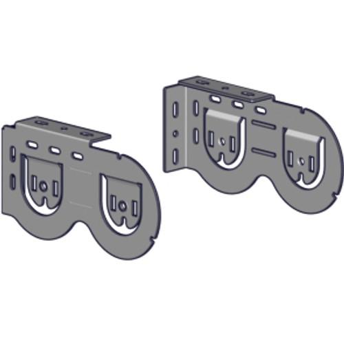 Rollease Double Horizontal Skyline Bracket Set