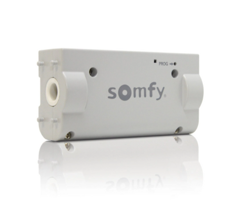 Somfy Tilt 50 WireFree Through-Shaft RTS motor is the newest addition to the WireFree motor range specifically designed for tilting 2 inch horizontal blinds.