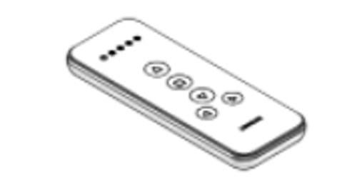 Louvolite 5 Channel Remote