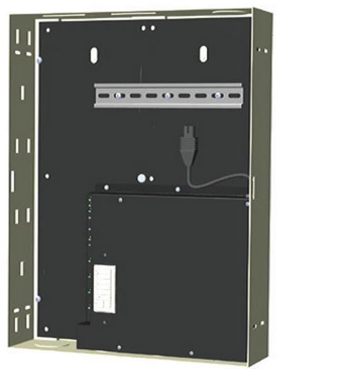 The Data Panel is a bus distribution component used to start or grow a Somfy Digital Network™ (SDN) system.