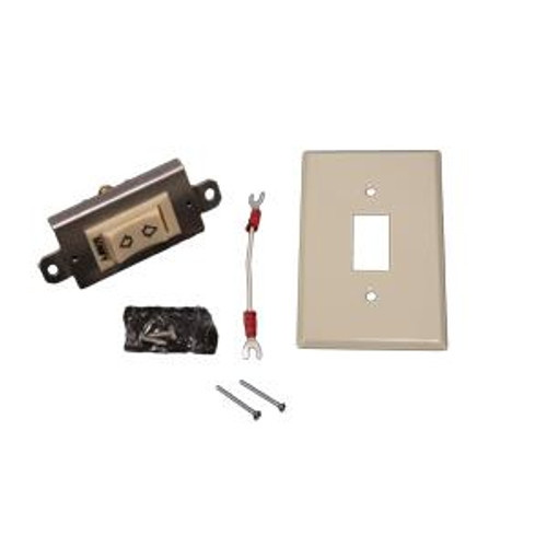 Momentary Rocker Switch Kit with Standard Plate (Ivory)