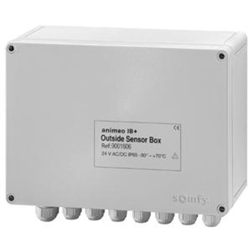 The Outside Sensor Box is the interface between the weather station sensors and the Building Controller.