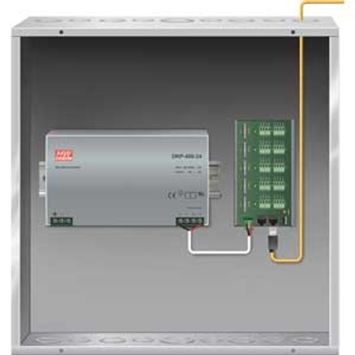 Power/Control Distribution Enclosure kit - 10 Motors Includes panel, power supply and enclosure.