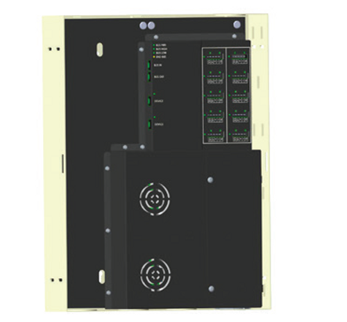 The Power Panel for SDN is a SDN bus distribution component used to add 10 isolated motor ports and two isolated device ports to an SDN bus segment.