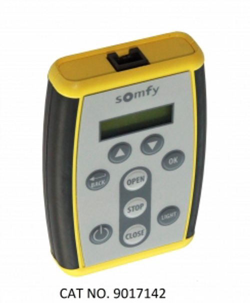 RS485 Motor Limit Setting & Address Reader Tool Hand-held tool required to set limits for RS485 motors.