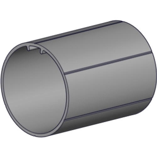 "Rollease 1.5"" OD aluminum tube 6' length no tape."