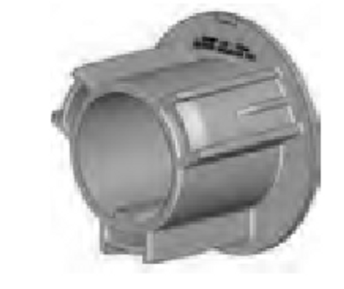 """2.5"""" & 3.25"""" tube adapter. For 2-1/2 inch tube for R-Series and Skyline SL-series 1-1/2 inch tubes."""
