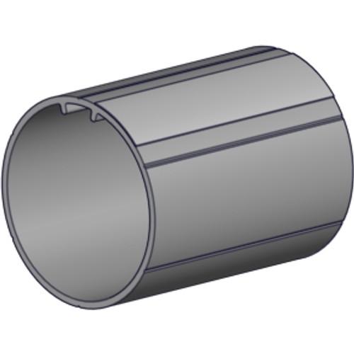 "2.5"" OD aluminum tube 6' length with tape."