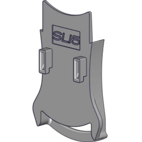 "Dual chain guide for SL15 clutch in 5"" fascia bracket - white"