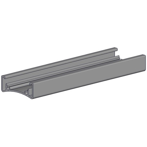 Headrail for single shade system (Easy Spring Plus) - white.