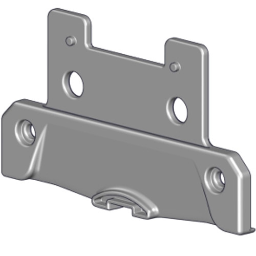 Pin end guide - white