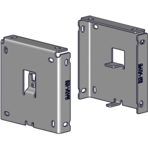 """R16 R-Series 4"""" square fascia bracket set. Bracket for 4"""" fascia to be used with R16 clutch driven shades."""