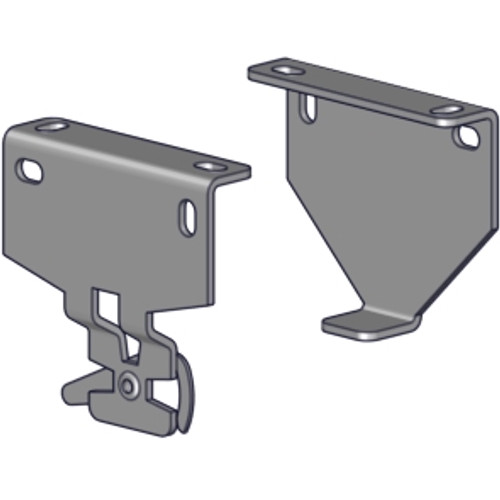 """R16-R24 R-Series mounting bracket set (2.875"""" projection) zinc finish. For R16 and R24 clutch for installing R-series R16/R24 roller shakde systems."""