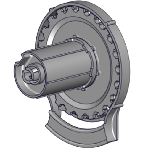 """R24 R-Series clutch (1.5""""). Clutch for 1 1/2"""" tube for R-Series R24 roller shade systems."""