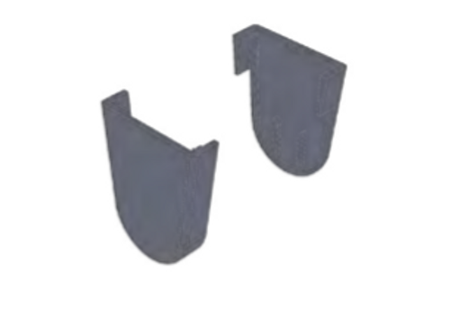 "R3-R8 bracket cover set (1.5""). Bracket cover for covering RB360 installation bracket by sliding over the bracket."