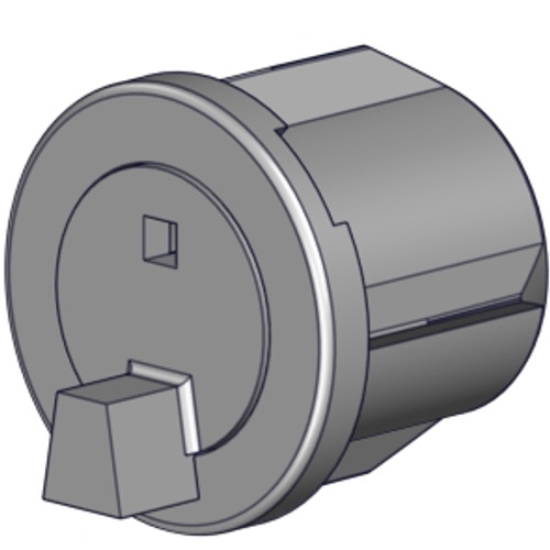 """Rollease R-Series pin end (1.25""""). End plug for 1 1/4"""" roller shade tube."""