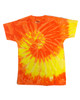 Spiral Yellow & Orange
