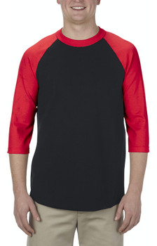 Adult 3/4 Sleeve Raglan Tees