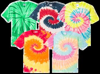 Irregular Adult Tie Dye T-Shirts