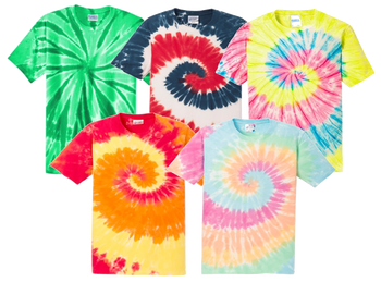 Irregular Adult Tie Dye T-Shirts