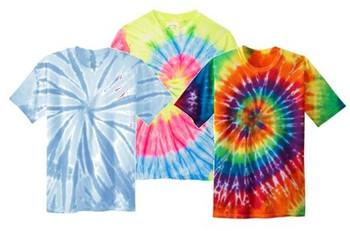 Irregular Youth Tie Dye T-Shirts