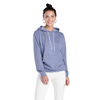 Delta Adult Snow Heather French Terry Hood