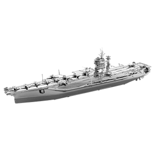 Metal Earth ICONX – USS Roosevelt Carrier