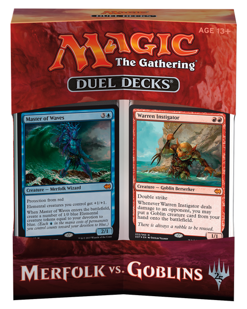 Duel Decks - Merfolk vs. Goblins